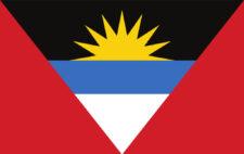 Gästflagga Antigua and Barbuda