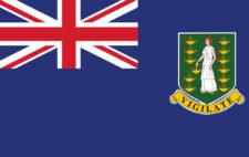 Gästflagga British Virgin Islands