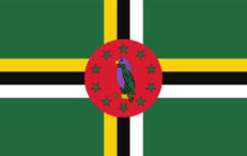 Gästflagga Dominica