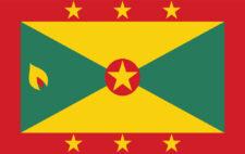 Gästflagga Grenada