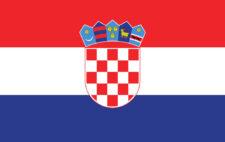Gästflagga Kroatien