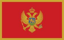 Gästflagga Montenegro