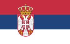 Gästflagga Serbien