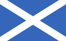 Gästflagga Skottland