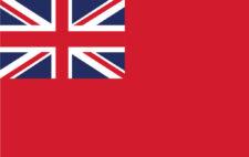 Gästflagga Storbritannien
