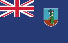 Gästflagga Montserrat