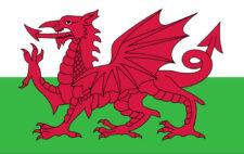 Gästflagga Wales