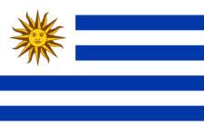 Gästflagga Uruguay